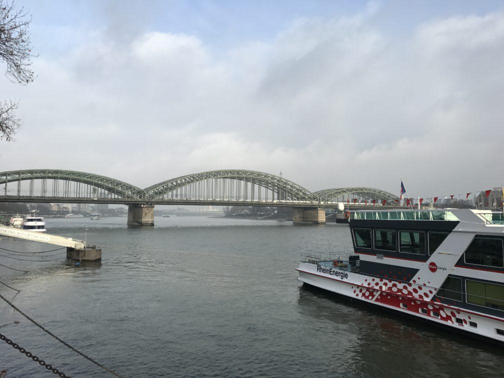 Hohenzollernbrücke over de Rijn