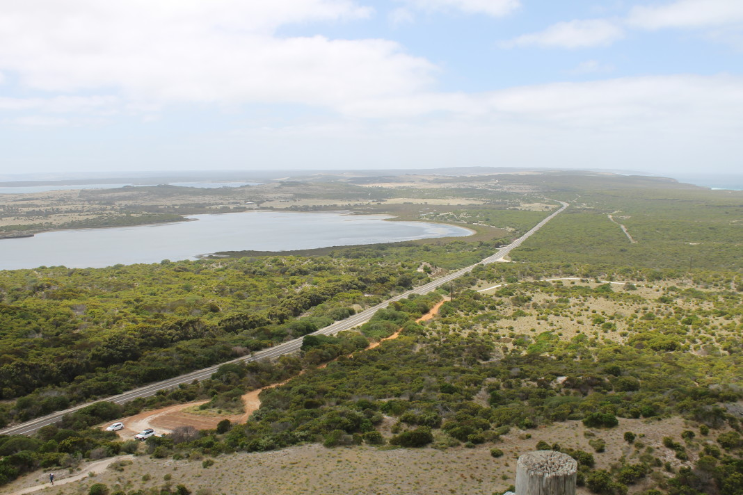Kangaroo Island vanaf Prospect Hill