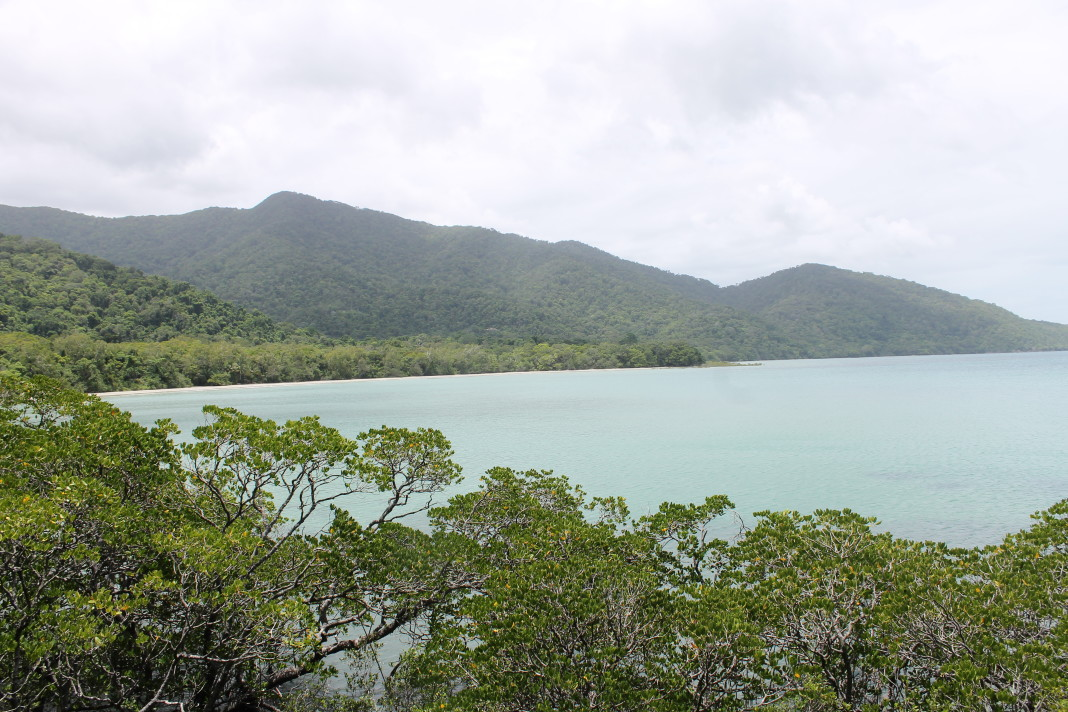 Uitzicht over Cape Tribulation