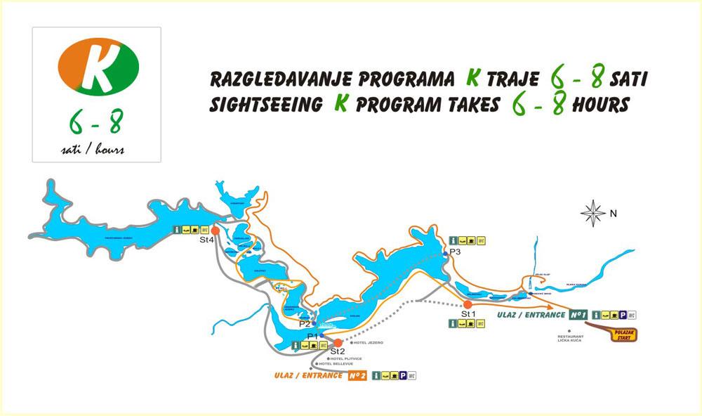 Routes Plitvice Meren