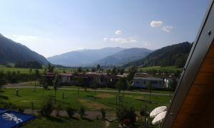 Uitzicht camping Bella Austria