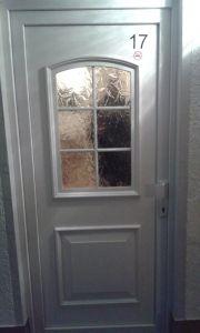 Onze voordeur