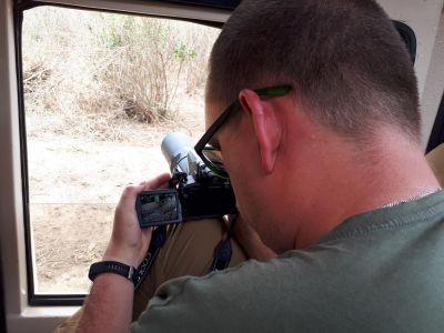 De luipaard fotograferen