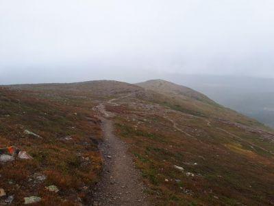 Onderweg naar de top van Högfjället