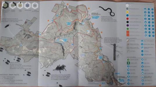 Wandelroutes Söderåsen National Park