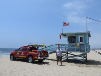 Baywatch op Venice Beach