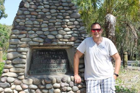 Gedenkteken James Cook Town of 1770