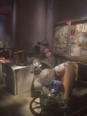 Het verlaten ziekenhuis van The Walking Dead