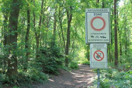 Geen telefoon in het nationaal park