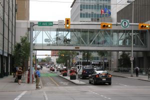 Straatbeeld Calgary
