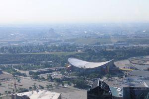 Olympisch stadion vanuit Calgary Tower