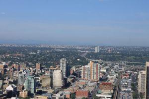 Calgary vanuit Calgary Tower