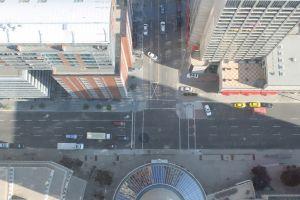 Hoogte vanuit Calgary Tower