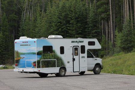 Standaard camper Cruise Canada