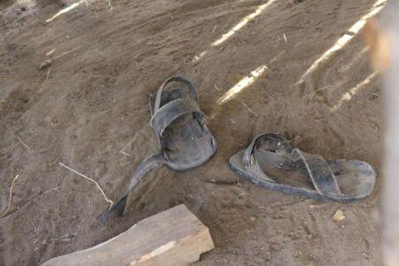 Schoenen gemaakt van autobanden