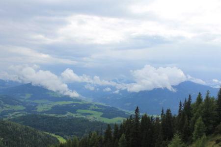 Tijdens de route naar de top genoten we constant van mooie uitzichten