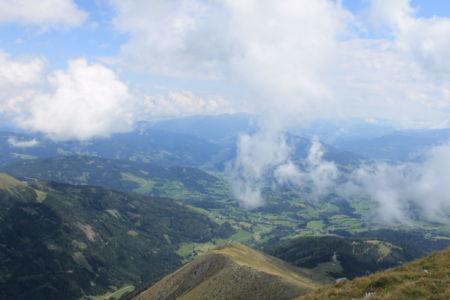 Uitzicht vanaf de top van de Greim
