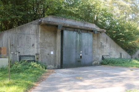 In deze bunker lagen vroeger kilo's munitie