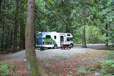 Camping Nairn Falls, Pemberton