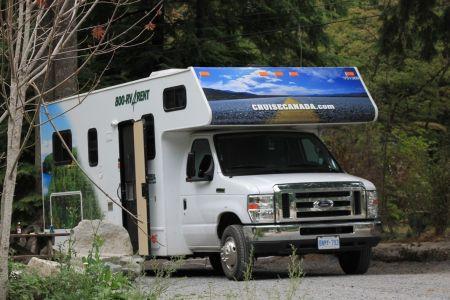 Camping Klahanie, Squamish
