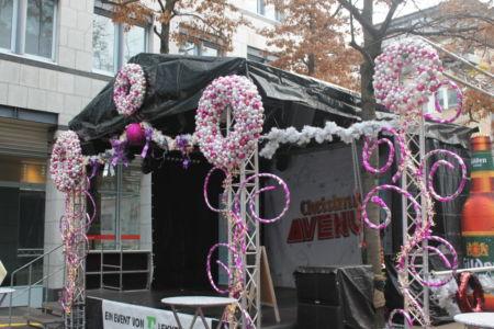 Gay kerstmarkt op de Schaafenstraße