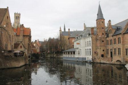 Het stadsbeeld van Brugge