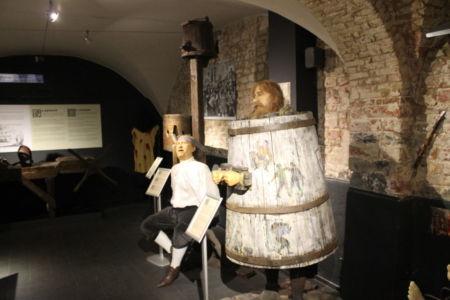 Martelmethodes in het Torture Museum