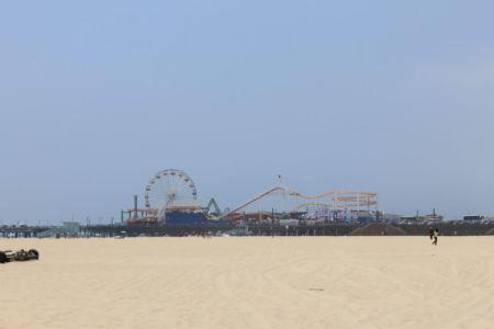 Pacific Park op Santa Monica Pier