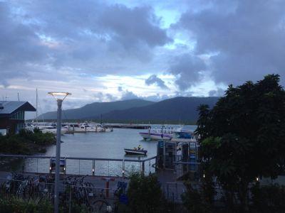 De haven van Cairns