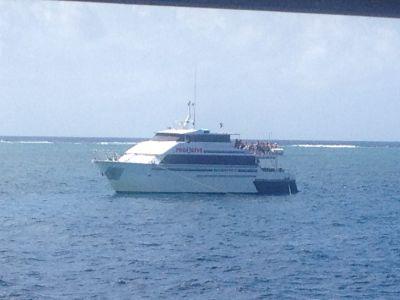 Onze boot voor 3 dagen