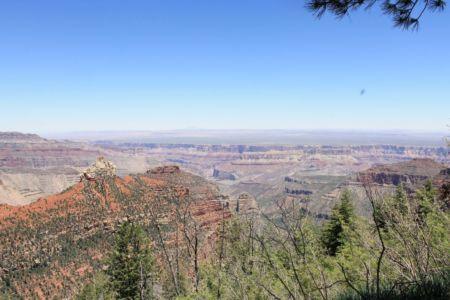 Grand Canyon uitzicht