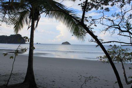 Het strand en de stille oceaan