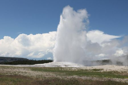 The Old Faithful Geyser