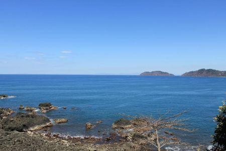 De Pacifische kust bij Jaco