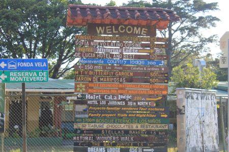 Bienvenido en Monteverde
