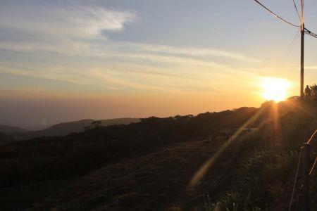 Zonsondergang in Monteverde