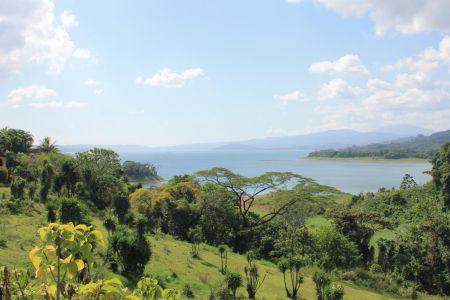 Prachtig uitzicht op Lake Arenal