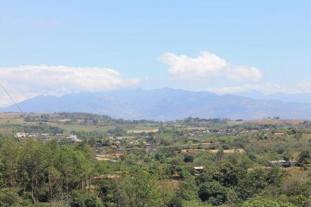 Uitzicht op de bergen rondom Bajos del Toro