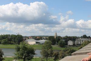 Uitzicht op de Wisla