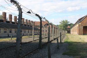 Prikkeldraad Auschwitz