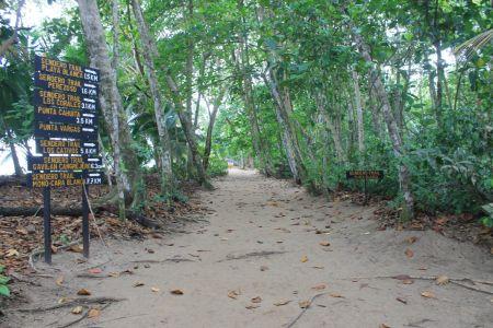 Er zijn meerdere wandelroutes
