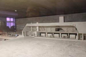 Reconstructie gaskamer Birkenau