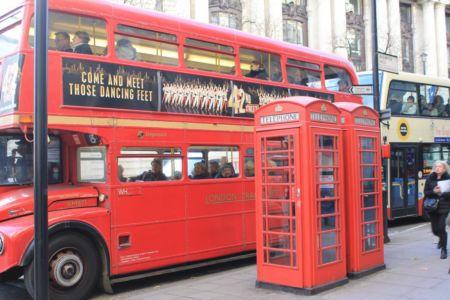 Het welbekende beeld van Londen