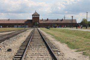 The gate of death Birkenau