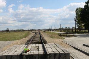 Treinspoor Birkenau