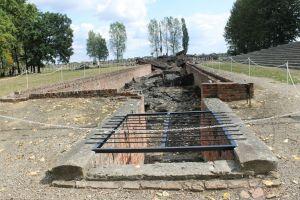 Ingang gaskamer Birkenau