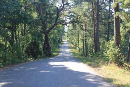 De weg naar Getnö Gård