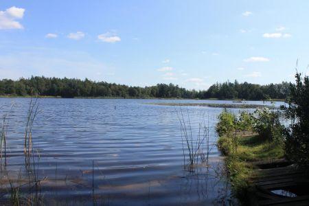 Het mooie Lake Åsnen