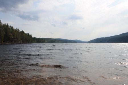 Het Ängratörn meer