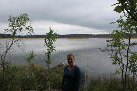 Het Svansjön meer
